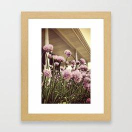 Chive on Framed Art Print
