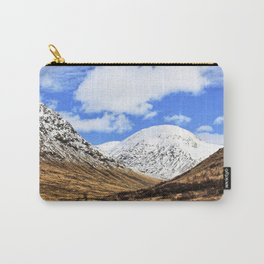 Spring in Glen Etive, Scottish highlands Carry-All Pouch