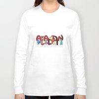 aladdin Long Sleeve T-shirts featuring Aladdin  by Mix-Master