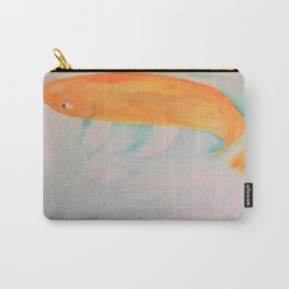 Watercolor Koi Carry-All Pouch