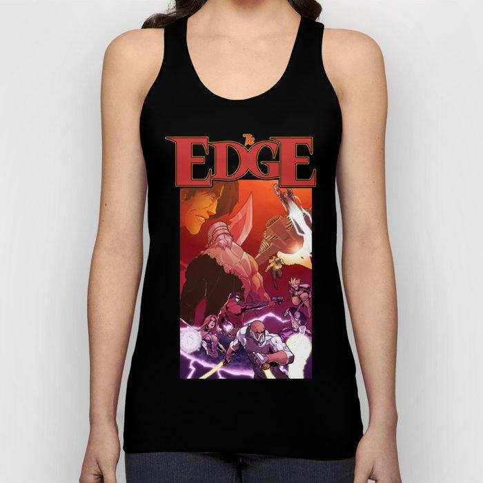 The Edge #6 Cover artwork Unisex Tank Top