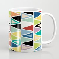 explore Mugs featuring explore. by Sharon Turner