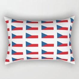 flag of Czech -Czechia,Česko,Bohemia,Moravia, Silesia,Prague. Rectangular Pillow