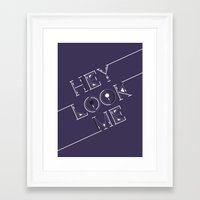 cs lewis Framed Art Prints featuring CS Zero by BenChalit Sagiamsak