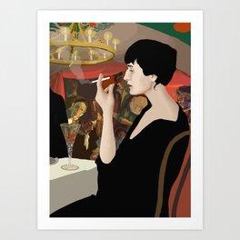 Anna Akhmatova Art Print