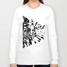 Broken Vinyl Long Sleeve T-shirt