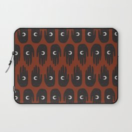 Hand and Moon Laptop Sleeve