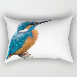 River Kingfisher Rectangular Pillow