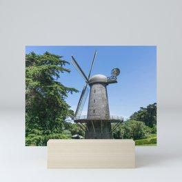Dutch windmill Mini Art Print