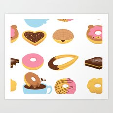 Sweety Morning Art Print
