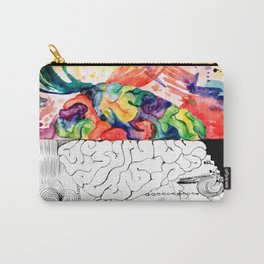 Right Left Brain Carry-All Pouch