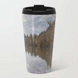 Autumn Lake Reflections Travel Mug