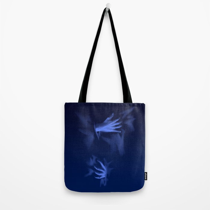 Coming Out Of The Blue Tote Bag