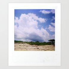 Costa Rica Polaroid #52 Art Print
