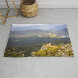 Above the abyss Rug