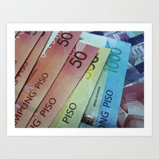 Philippine Cash Art Print