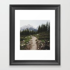 Teton Trail Framed Art Print