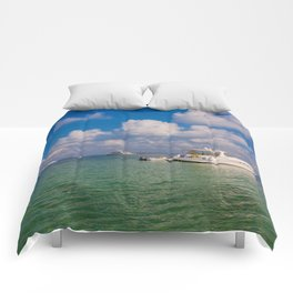 Anchored Comforters