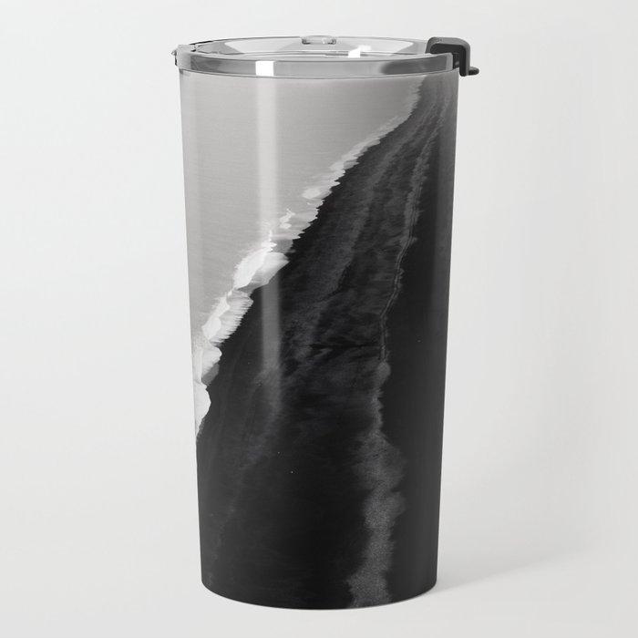 BLACK SAND BEACH Travel Mug