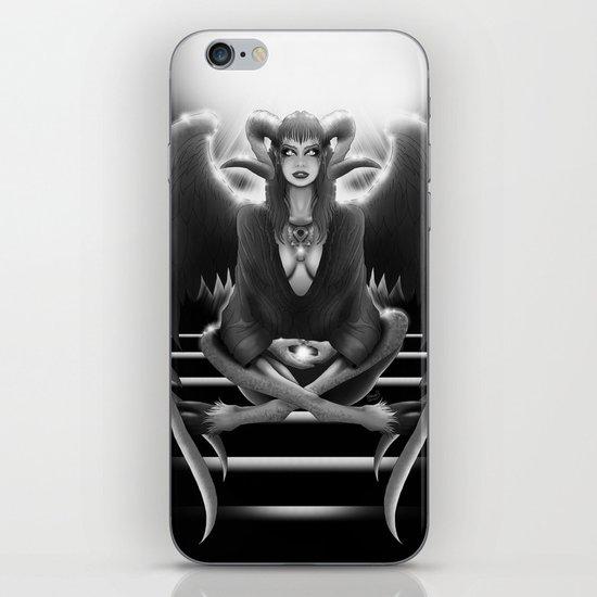 Meditate iPhone & iPod Skin