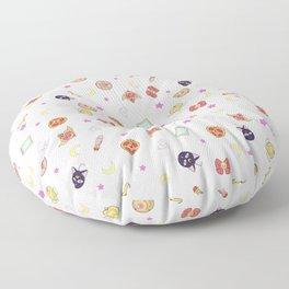 sailor moon pattern Floor Pillow