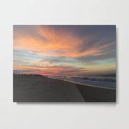 Montauk Sunrise Metal Print