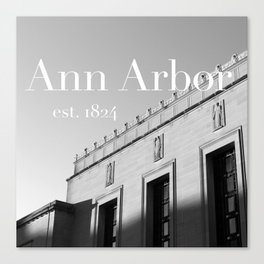 Ann Arbor Canvas Print