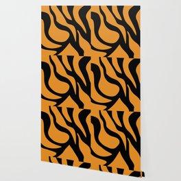 Tiger Texture Background #society6 #decor #buyart #artprint Wallpaper