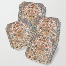 Isfahan Antique Central Persian Carpet Print Coaster