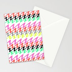 Zig Zag Stripes Stationery Cards