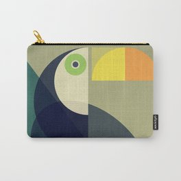 Mid Century Toucan Carry-All Pouch