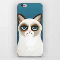 grumpy iPhone & iPod Skins featuring Grumpy by StudioMarimo