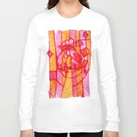 30 rock Long Sleeve T-shirts featuring 30 by Pedro Ossa