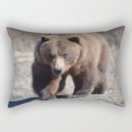 Alaskan Grizzly Bear - Spring Rectangular Pillow