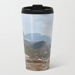 French Alps in the winter Travel Mug