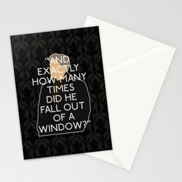 A Scandal in Belgravia - Greg Lestrade Stationery Cards