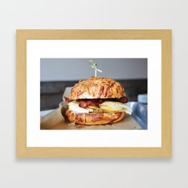 Bacon, Egg and Cheese Framed Art Print