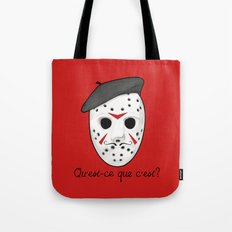 Psycho Killer Tote Bag
