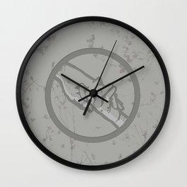 Abnegation Manifesto Wall Clock