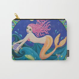 The Midnight Mermaid Carry-All Pouch