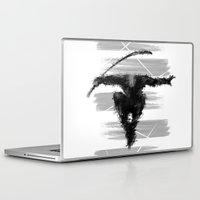 ninja Laptop & iPad Skins featuring ninja  by jun salazar