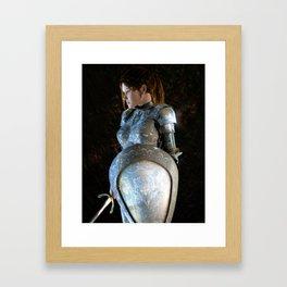 Eleanor, Duchess of Aquitane and Countess of Poitou Framed Art Print
