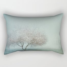 Blurred Hope Rectangular Pillow