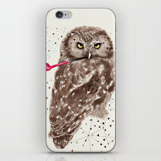 Mr.Owl III iPhone & iPod Skin