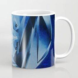 Cubist Portrait of Pablo Picasso: The Blue Period  Coffee Mug
