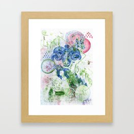 The World As We Know It Is Changing Framed Art Print