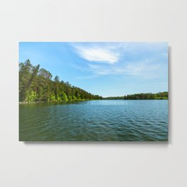 Lake Itasca - Minnesota, USA 1 Metal Print