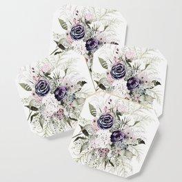 Purple Bouquet Coaster