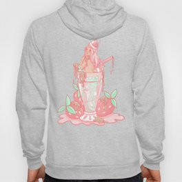 Strawberry Mermaid Shake Hoody