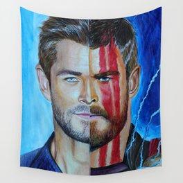 Chris Ragnarok Hemsworth Wall Tapestry